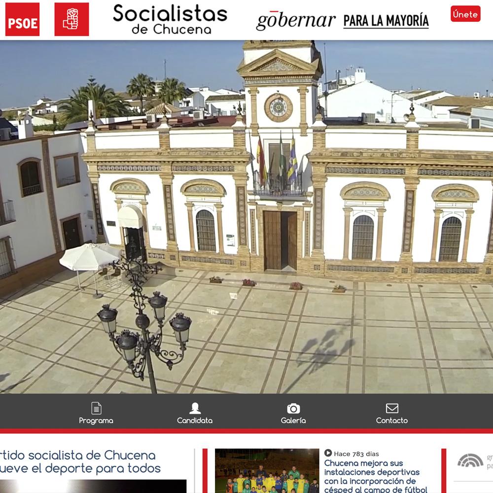 Web PSOE Chucena